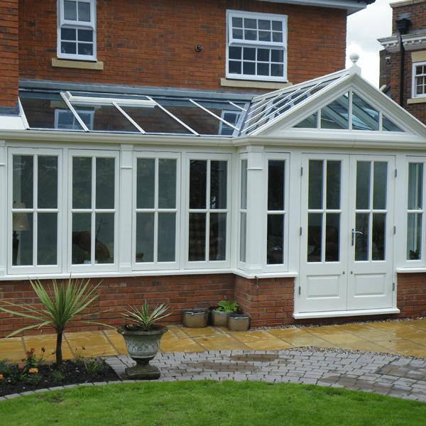 bespoke hardwood conservatories  wooden orangeries  garden rooms
